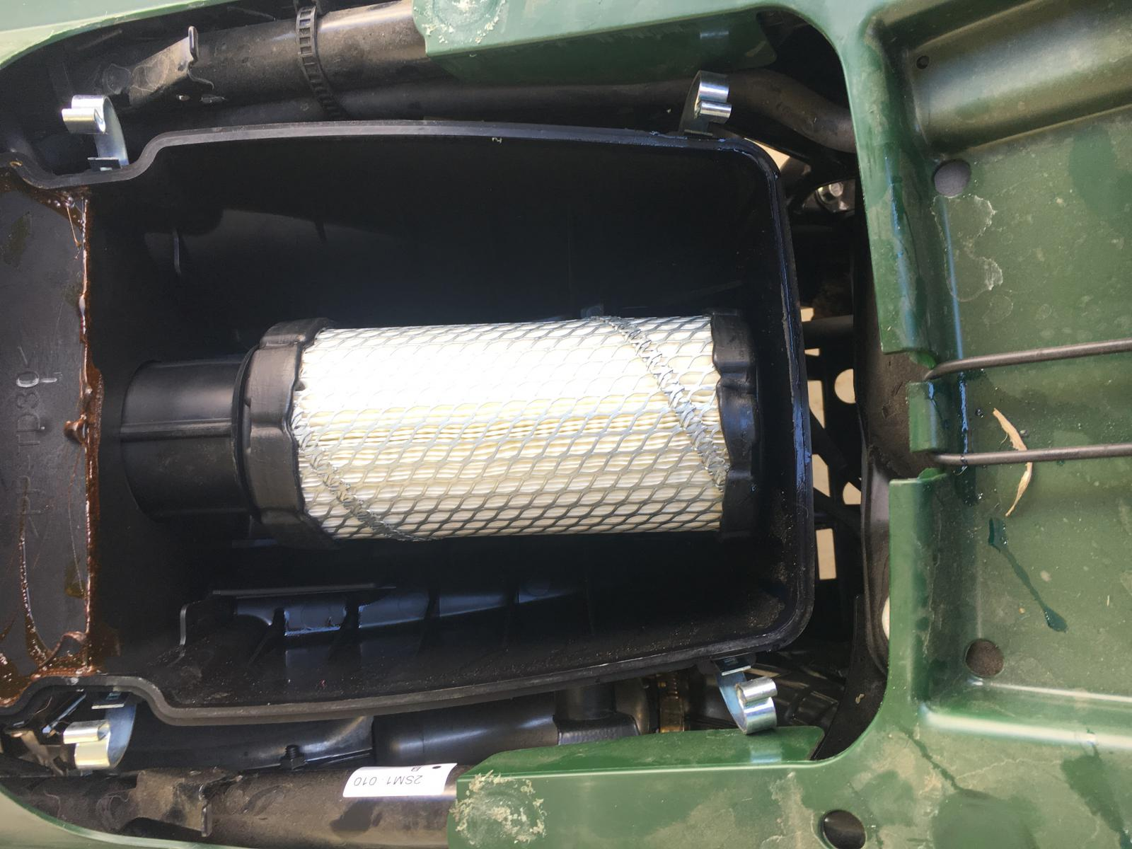 Air filter fix - Yamaha Kodiak 700 Forum