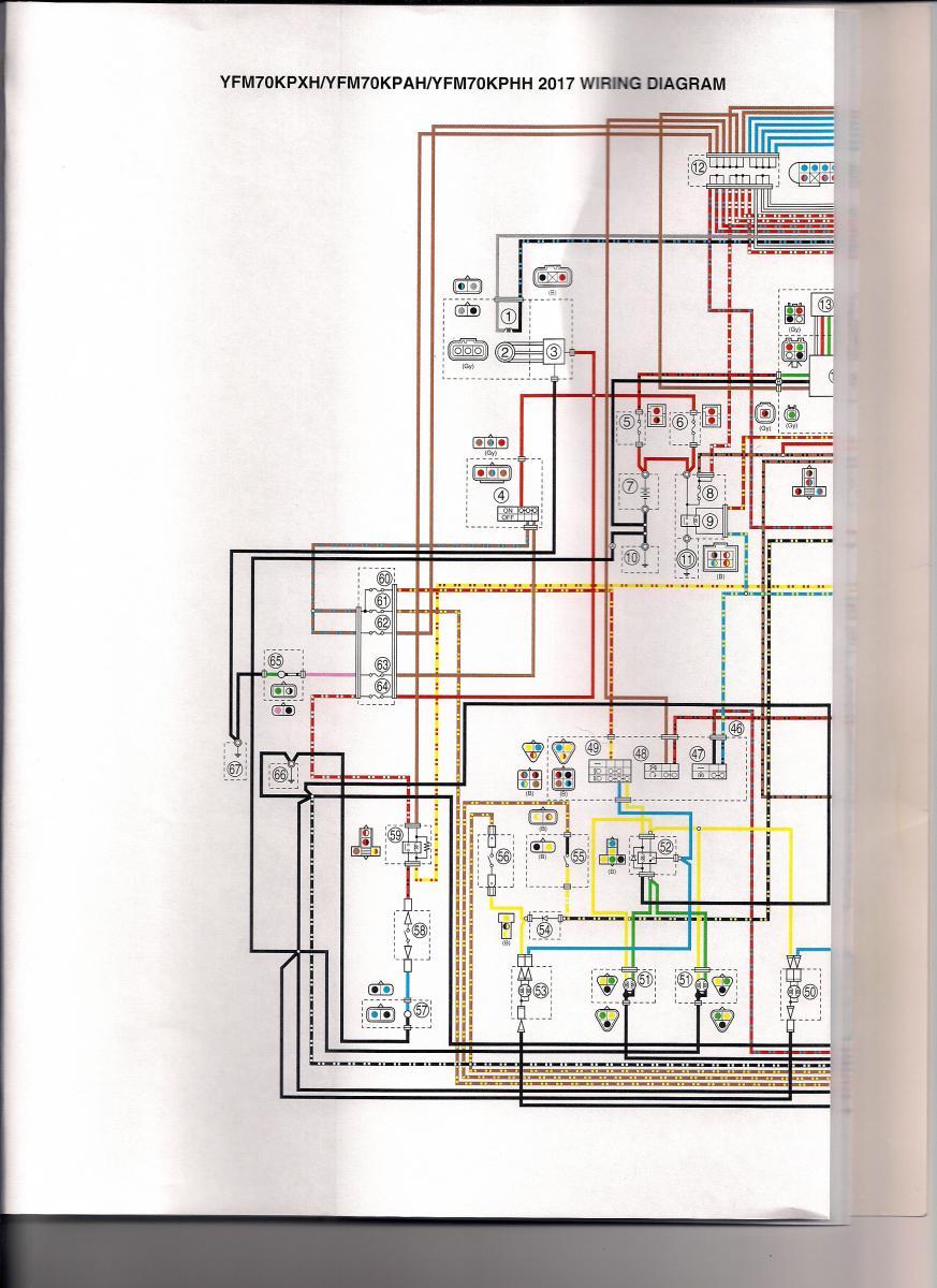 Yamaha Kodiak 450 Wiring Diagram